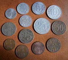Commemorative Coins, Precious Metals, Old Photos, Memories, Retro, Color, Coins, Prague, Nostalgia