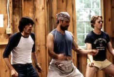 Christopher Meloni, A. Miles, and Michael Showalter in Wet Hot American Summer Comedy Movies On Netflix, Movies To Watch, Netflix Series, Tv Series, Crime Film, Into The Fire, Adam Sandler, Amazon Prime Video, Freshman Year