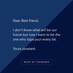 Book Of Teenager ( Guy Friendship Quotes, Bff Quotes, Girly Quotes, Best Friend Quotes, True Quotes, Funny Quotes, Funny Friendship, Dear Best Friend, Bestest Friend