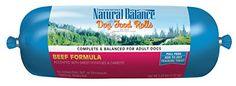 Natural Balance Beef Formula Dog Food Roll, 2.25-Pound *** Want to know more, click on the image.