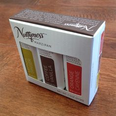 Nuttyness Chocolate Package Design