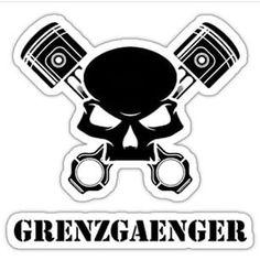 Grenzgaenger Logo by Dr. Le Sporer