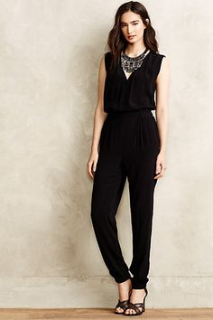 Michelia Petite Jumpsuit. #anthropologie. I'll wear this. Someday.