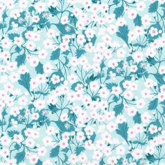 Liberty Fabric Tana Lawn Mitsi X Mint. Alice Caroline Exclusive