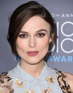 Keira Knightley et son maquillage hivernal
