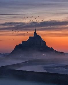 """pix: """"Mont Saint-Michel France photography by France Photography, Stunning Photography, Mont Saint Michel France, Blog Voyage, Anime Scenery, Best Vacations, Great Pictures, Wonderful Places, Travel Posters"""