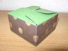 Gift Box Punchboard - quadratische Schachtel