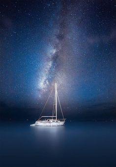 Night Sailing    Copyright : Jesse Summers