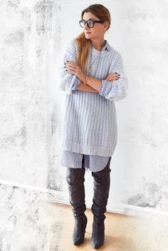 die EDELFABRIK | Blog für Mode und Beauty | Ü40 Blog | Kassel | Frankfurt | Hannover | : Wie style ich ein Hemdblusenkleid im Herbst - Outf...