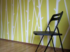 tree wall designs with tape - Google Search