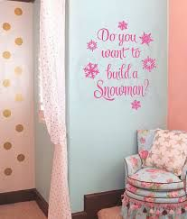 Frozen Wall Decals Etsy   Do You Want To Build A Snowman?