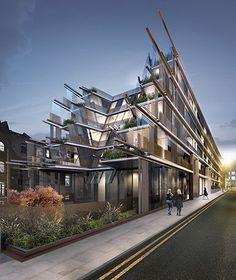 Nobu Shoreditch by Ben Adams Architects