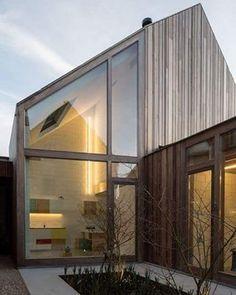 #SdeSabadoSdeSurtido Clínica dental (50 Shades of wood)) de Declerck-Daels Architecten en Brujas (Blélgica), 2014 @b.arquitectura