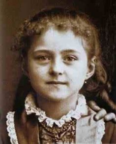 "St Therese  (""The Little Flower"").             1873 - 1897"