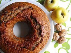 Bolo de mel com maçã e nozes | As receitas lá de casa | Bloglovin'
