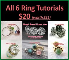 Ring Tutorials (6) Package