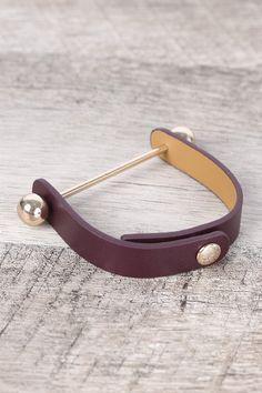 Polished Ball Vegan Leather Snap Button Bracelet | eBay