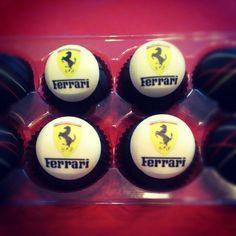 Ferrari Cake Truffles! All edible ;)