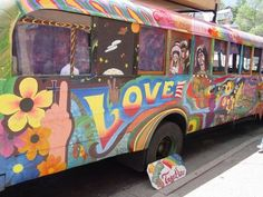 Hippie School Bus