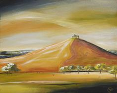 'Golden light over Colmers Hill'