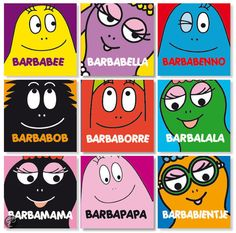 Barbapapa personages