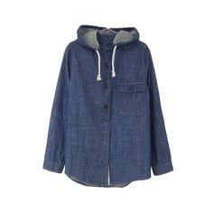 chambray hoodie on xssm, $24.00