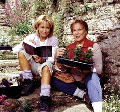 How I loved my time with these two delightful characters - an easy light but rewarding watch!  Rosemary & Thyme - Felicity Kendal and Pam Ferris