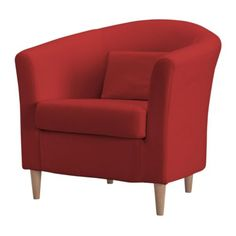 TULLSTA Armchair IKEA The included cushion can be used for lumbar support. Extra covers make it easy to give both your sofa and room a new l...