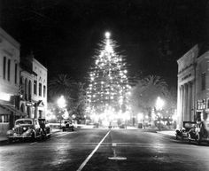 Downtown Orange, California, Dec. 1937 by Orange County Archives, via Flickr