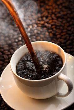 Hot black coffee <3