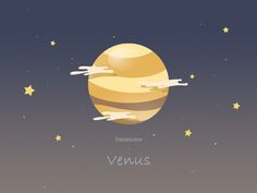 Venus is my favorite planet. Pattern Wallpaper, Wallpaper Backgrounds, Iphone Wallpaper, Planets Wallpaper, Venus, Art Puns, Space Illustration, Sistema Solar, Star Sky