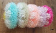 (자파리세계로 코스모스피어있는길 세미) 노랑과 주황색으로 포인트를 줘서 떠보았어요^^ 꽃이 큼직~하게 ... Fur Slides, Knitting, Crochet, Jewelry, House, Fashion, Home, Flower Crochet, Crafting