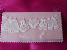 Cute parchment baby card