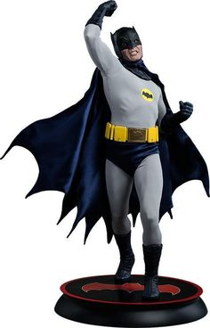 DC Comics Batman Premium Format (TM) Figure by Sideshow Collectibles Batman Figura, Hot Wheels, Statues, Hq Dc, Batman 1966, Adam West, Batman Universe, Dc Comics Art, Sideshow Collectibles