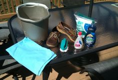 How to clean your Sperry's.........wish I'd have known this mths ago it would have saved me from throwing a pair :(
