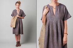 japan style linen dress - Google Search