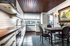 Modern scandinavian style kitchen