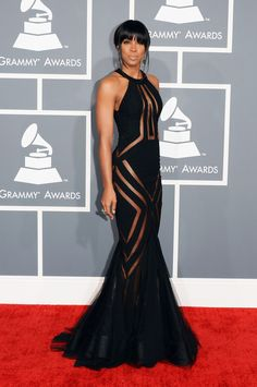 Kelly Roland - my favorite gown! Grammys 2013 Red Carpet Photos: See All The Fashion! (PHOTOS)