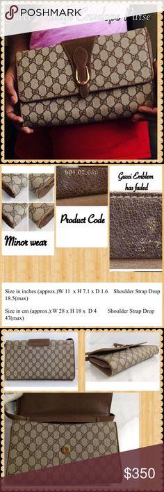 Vintage Gucci Envelope Clutch/Purse Vintage Gucci Envelope Clutch/Purse Gucci Bags Clutches & Wristlets