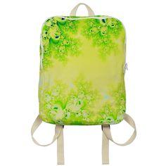#Sunny #Spring #Frost #Fractal #Backpack