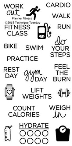 TECHNIQUE TUESDAY: Planner Fitness