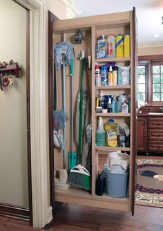 10 Eloquent Cool Ideas: Kitchen Remodel Tips Laundry Rooms kitchen remodel cherry dark wood.Kitchen Remodel Tips Projects affordable kitchen remodel floor plans.Kitchen Remodel With Island L Shape. Diy Cupboards, Kitchen Cabinet Storage, Laundry Room Storage, Closet Storage, Storage Cabinets, Laundry Rooms, Kitchen Pantry, Broom Cabinet, Island Kitchen