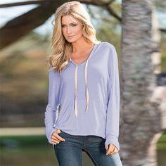 Durable t shirt women harajuku Women Long Sleeve Shirt Casual Hooded Loose Coat Tops T Shirt