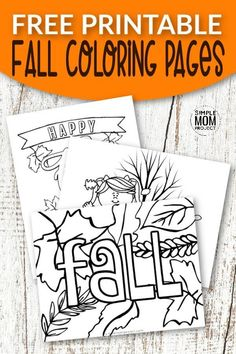 "These free printable fall coloring pages for kids is something fun to do when you're stuck at home with kids! The adorable scarecrows and fun pumpkins are fun activities to have printed out for days when your toddlers keep coming up to you saying ""I'm bored"". This boredom buster activity can provide hours of fun for your children to stay occupied while you get chores done. You'll love the printable that allows your kids to color whenever they need something [… Pumpkin Coloring Sheet, Fall Coloring Sheets, Fall Coloring Pages, Animal Coloring Pages, Fun Crafts To Do, Halloween Crafts For Kids, Popsicle Stick Crafts, Craft Stick Crafts, Craft Ideas"