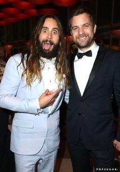 Pin for Later: Die 55 besten Bilder der Oscars 2015 Jared Leto und Joshua Jackson