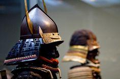 Japanese samurai war masks