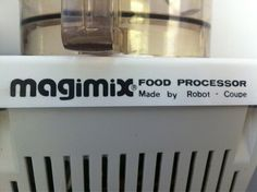 Magimix via @Sam Rosen