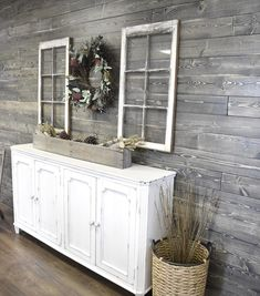 Reinvent your space with our Wide Plank Shiplap interior siding. Our Weathered Gray shiplap is made from new solid wood with a stunning distressed finish that mimics aged or distressed wood without… Gray Shiplap, Basement Guest Rooms, Shiplap Ceiling, Plank Walls, Plank Wall Bedroom, Ship Lap Walls, How To Distress Wood, Porch Decorating, Decorating With Gray Walls