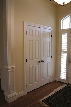 Interior Doors Custom Single Panel Eight Foot Cherry