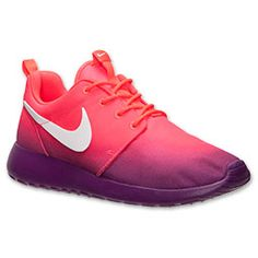 Women's Nike Roshe Run Print Casual shoes. They are  like ombre and i think they are so cute.